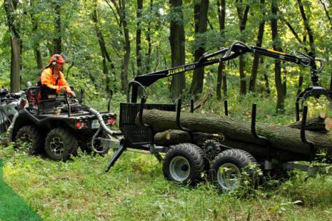 Financování nákupu lesní a další techniky