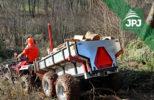 ATV přívěs za pracovní čtyřkolky