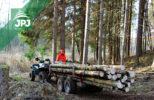 ATV vyvážečka dřeva Dřevař