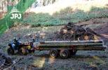 ATV vyvážecí přívěs Dřevař
