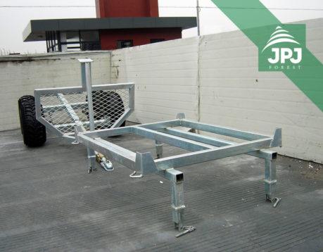 Nástavba Vodník na ATV vozík
