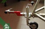 Opěrné kolečko pro ATV vozíky