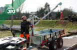 Otočné kladkové rameno pro ATV přívěsy