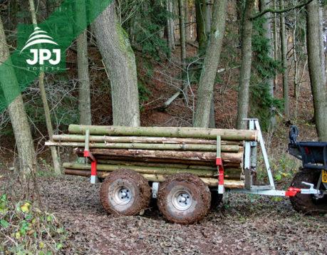 ATV přívěs Dřevař