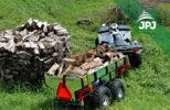 Vozík za ATV čtyřkolky Dělník
