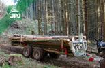 Vyvážečka dřeva za ATV