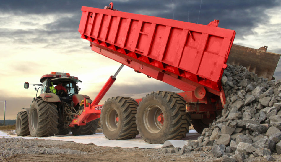 Traktorové nosiče kontejnerů BIGAB