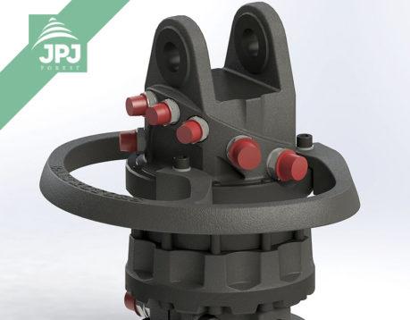 Hydraulický rotátor GRS10