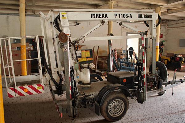 Pracovní plošina INREKA P 1106-A