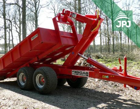 Traktorový nosič Bigab 12 – 15