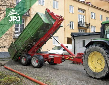 Traktorový nosič Bigab 14 – 17