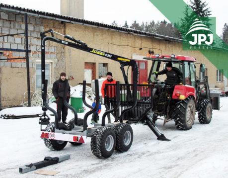 Vyvážečka Vahva Jussi 3000_420 (skladový kus)