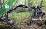 Vyvážečka dřeva VJ s půdní lopatou