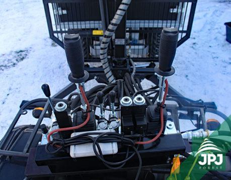 Vahva Jussi elektrický rozvaděč (2+3 páky, on-off)