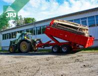 traktorový nosič kontejnerů Bigab