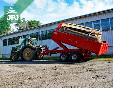 Traktorový nosič Bigab 8 – 12