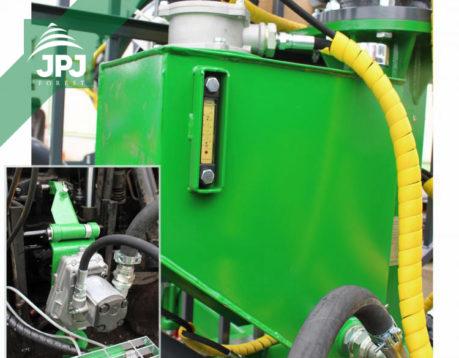 Vlastní hydraulický okruh pro vyvážecí vleky FARMA