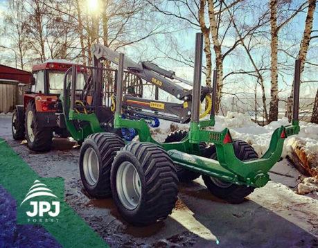 Vyvážecí souprava Farma 12 t