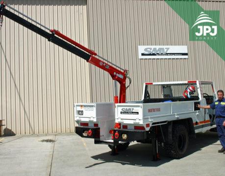 Jeřáby Maxilift typu 230 zvedací síla do 1 tuny