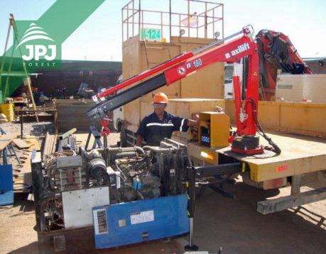 Jeřáby Maxilift typu 180 zvedací síla do 1 tuny