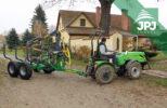 vyvážecí vlek za traktor CT 3,8-6