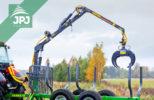 vyvážečka dřeva za traktor Farma 3,8-6