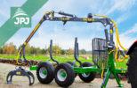 vyvážečka dřeva za traktor Farma CT 3,8-6