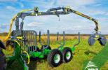 vyvážecí vlek za traktor Farma 3,8-6