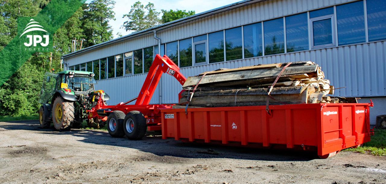 Traktorové nosiče BIGAB mohou na silnice!