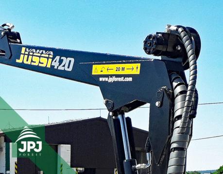Hydraulický naviják (komplet) pro VJ 420/500