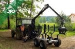 Traktorová vyvážečka VJ 3000_500 a Zetor 7211