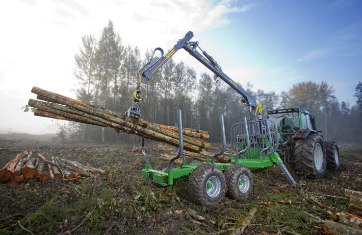 Traktorové vyvážečky FARMA