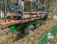 Vyvážečka dřeva Farma s nosností 17 t